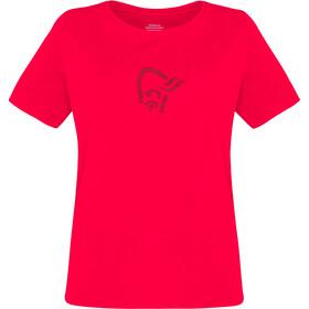 Norrøna /29 Viking Camiseta Algodón Mujer, crisp ruby